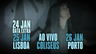 Ana Moura apresenta 'Desfado' - Coliseus - (Lisboa - 24 e 25 Jan | Porto - 26 Jan)