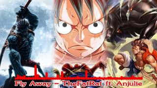 The FatRat - Fly away feat. Anjulie trên nền ảnh One Piece