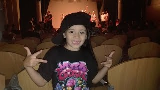 MCB GIRLS - Bboying - Bgirls Lorena, niña con 6 añitos bailando Break Dance
