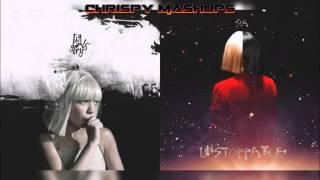 Sia - Big Girls Cry / Unstoppable Mashup