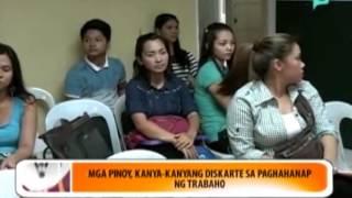 [Balitaan] Mga Pinoy, kanya-kanyang diskarte sa paghahanap ng trabaho [06|16|14]