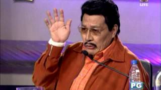 Willie Nepomuceno as Erap joins 'Showtime'