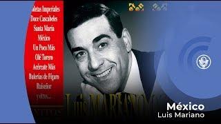Luis Mariano - Méjico (con letra - lyrics video)