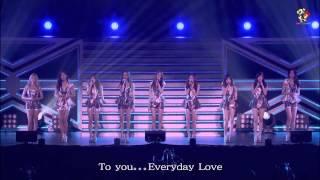 【繁體中字】少女時代 Girls' Generation (SNSD) -  Everyday Love (橫濱FREE LIVE)