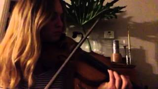 Kings of Leon Closer | violin cover