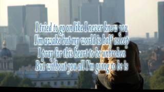BackStreet Boys - Incomplete (Lyrics) [HD]