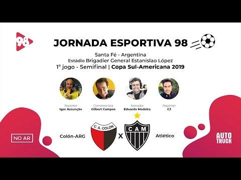 Download Video COLÓN-ARG X ATLÉTICO - COPA SUL-AMERICANA - RÁDIO 98FM