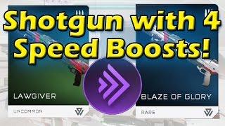 Halo 5 - Shotgun with 4 Speed Boosts!