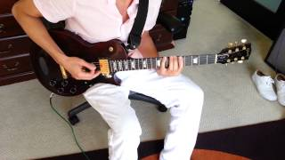Kickstart My Heart by Motley Crue Guitar part in Drop D tuning