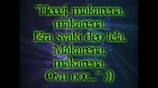 Rada Manojlovic ft. Dj Vujo & Cvija - Makarena 2013