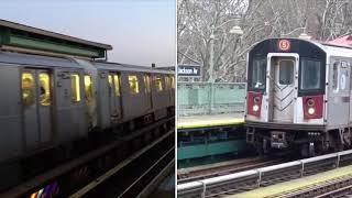 Keikyu 600 Keikyu Line vs R143 and R142A vs R188 NYC SUBWAY
