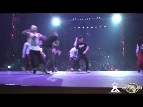 TEAM BBOY FRANCE vs SOUTH BBOYS FRONT | CREW BATTLE | CHELLES BATTLE PRO 2012
