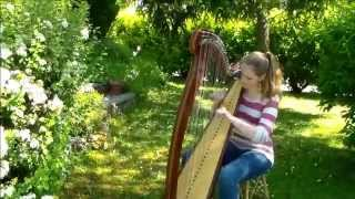 Skinny Love - Birdy/Bon Iver (Harp Cover)