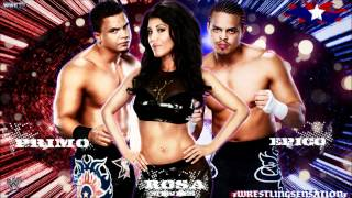 "Epico,Primo & Rosa Mendes 1st WWE Theme Song - ""Barcode"" (WWE Edit) [HQ+Download Link]"