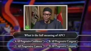 Does Buhari Know The Full Meaning of INEC?