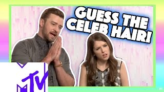 Justin Timberlake And Anna Kendrick Play GUESS THE CELEB HAIR!   MTV