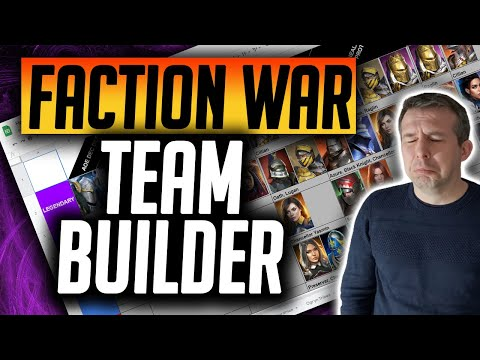 My Faction War Picks UPDATED 2021 EPICS & RARES ONLY!! | Raid: Shadow Legends