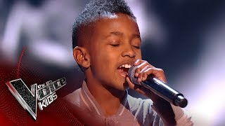Lil' T performs 'Shutdown': Blinds 1 | The Voice Kids UK 2017
