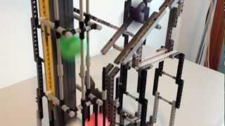LEGO Technic, Ping Pong Elevator, 3x speed FullHD