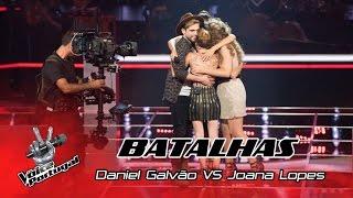 Daniel Galvão VS Joana Lopes - It's A Man's Man's Man's World | Batalhas | The Voice Portugal