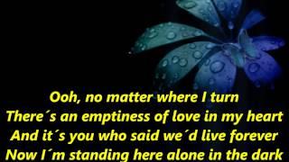 Thomas Anders - No More Tears On The Dancefloor [Lyrics]