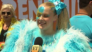 JoJo Siwa Dishes on Her Fabulous Feather-Filled Angry Birds Inspired Look! (Exclusive)
