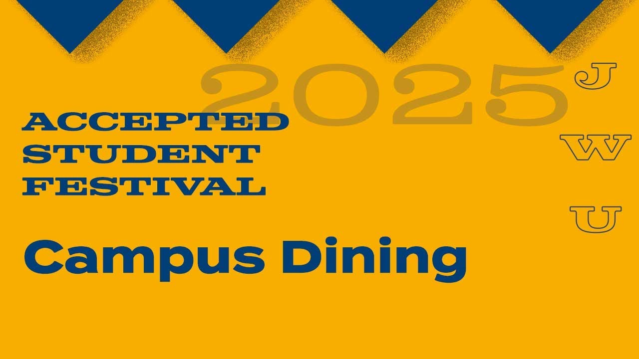 JWU Accepted Student Festival: Campus Dining thumbnail