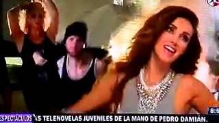 Anahi - graba al lado de Julion Alvarez el tema de Eres 02.03.2016