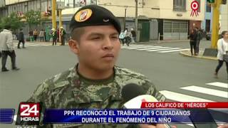 PPK rindió homenaje a fallecidos por el fenómeno 'El Niño Costero'