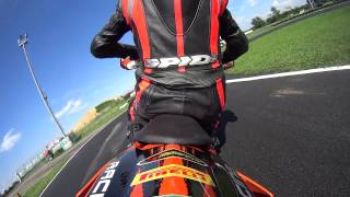 kTm EXC 450 Supermotard onboard @South Milano Karting, Ottobiano - 21.08.2014_02