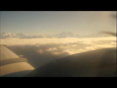 Himalaya mountain flight, Nepal