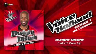 Dwight Dissels - I Won't Give Up (The Voice of Holland 2016/2017 Liveshow 2 Audio)