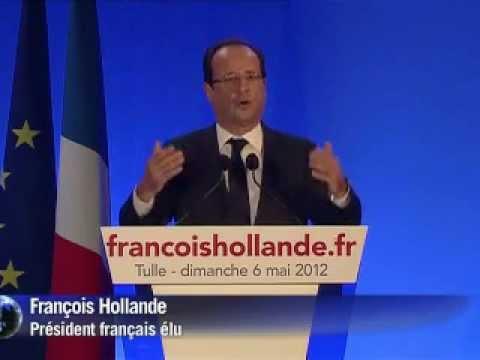 France : Victoire de François Hollande