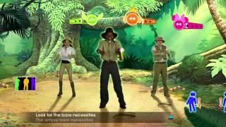 Just Dance: Disney Party -- Bare Necessities Gameplay