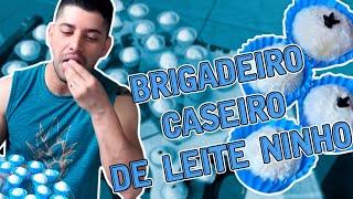 BRIGADEIRO DE LEITE NINHO / RECEITA DE BRIGADEIRO / LEITE EM PÓ