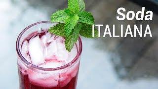 Como fazer Soda Italiana - Web à Milanesa