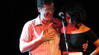 "Monica Martin of Phox with J.E. Sunde ""I Will Smile When I Think Of You"""