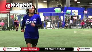 CIS Flash vs Portugal Liga 5 de Mayo Soccer League