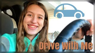 I Can Drive?! | Drive With Me Vlog