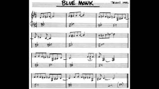 Blue Monk - play along - backing track