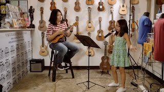Count On Me - Bruno Mars (cover by 9yo Talia feat. Pao Gumba on ukulele)