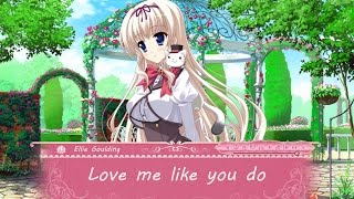 Nightcore - Love me like you do (lyrics)