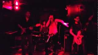 The Vox - Hysteria Queen (live @ Fat Baby - NYC - 8-3-2012)