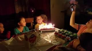Robbie and Xavier Webster birthdays 2017