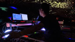 Hataken 6 hours live @ Ambient Source , Boom Festival 2012 night time 2