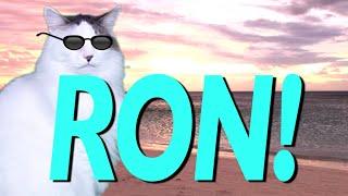 HAPPY BIRTHDAY RON! - EPIC CAT Happy Birthday Song