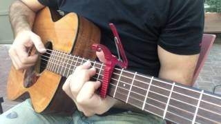 Girls Just Wanna Have Fun (Cyndi Lauper)- Live Fingerstyle Guitar
