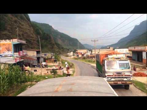 Nepali Bus Ride