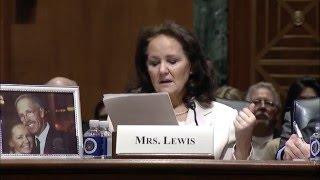 Rita Lewis Congressional Testimony (excerpt)