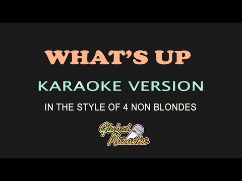 4 non blondes whats up lyrics karaoke country